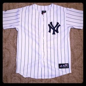 NY Yankees Majestic Genuine Jersey